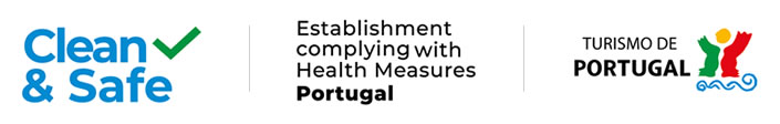 Clean & safe - Establishment complying with Health Measures Portugal - Turismo de Portugal
